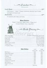 wooden windmill menu fremont dineries