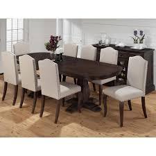 jofran 634 102b 102t 8x634 422kd grand terrace 9 piece dining grand terrace 9 piece dining table upholstered chair set
