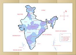 Pakistan On The Map How To Draw The Map Of India With Pictures Wikihow