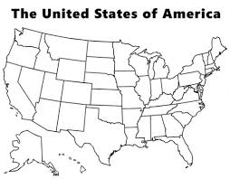 Map Of The Usa by Usa Map Coloring Page Intended To Inspire In Coloring Images
