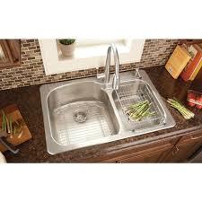 kitchen sink installation glacier bay top mount stainless steel