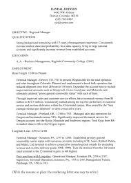 Cover Letter Sample For Marketing Director   Cover Letter Templates