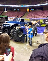 monster truck show tucson getting jacked up at the monster jam truck show monsterjam