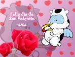 Dibujos de San Valentín para colorear - Escuela en la nube