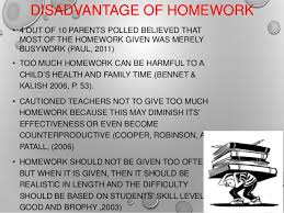 Positive and Negative Effects of Homework on Students   www      Positive and Negative Effects of Homework on Students