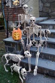 halloween skeletons decorations the
