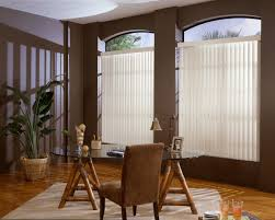 s shaped vertical blinds in