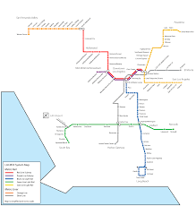 Grand Park Los Angeles Map by La Metro Line Map Maps And Places Pinterest La Metro Los