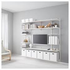 Ikea Bookcase White by Algot Wall Upright Shelves White Ikea Algot Shelving And Shelves