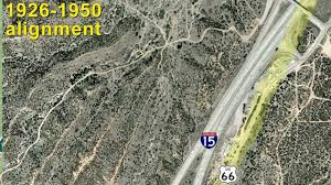 Route 66 Arizona Map by Route 66 In The Cajon Pass Youtube