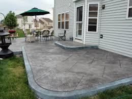 Backyard Cement Patio Ideas by Fresh Concrete Patio Ideas For Small Backyards 40 On Garden Ridge