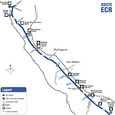 San Francisco Bart Map Route Ecr