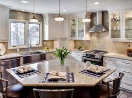 deco nature chic contemporary kitchens hgtv