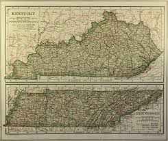 West Tennessee Map by Tennessee Maps