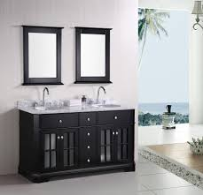 Beach Themed Bathrooms by Bathroom Design Bathroom Extensive Black White Wooden Floating