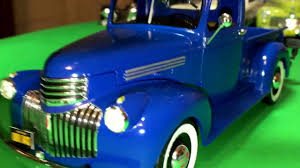 Old Ford Truck Model Kits - plastic model kit review 1941 chevrolet pickup by revell in 1 25
