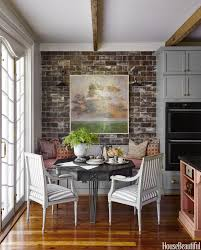 Eat In Kitchen by Kitchen Style Eclectic Eat In Kitchen Brick Wall Victorian Style