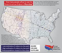 Wyoming Map Usa by Statistics U2014 Total Solar Eclipse Of Aug 21 2017