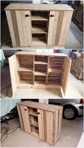 Building Kitchen Cabinet Boxes Top 25 Best Pallet Cabinet Ideas On Pinterest Pallet Kitchen