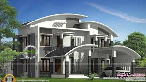 curved roof house plan kerala home design bloglovin u0027