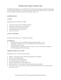 Customer Service Resume Skills Culinary Skills List Resume Resume For Your Job Application
