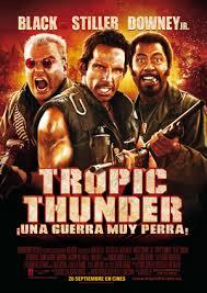 Tropic Thunder: ¡Una guerra muy perra! (2008) [Latino]