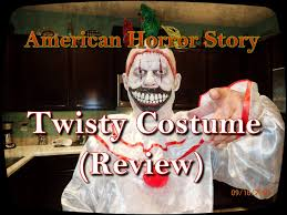ahs twisty the clown costume review youtube