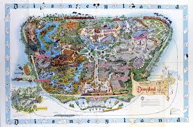 Printable Map Of Disney World Disneyland U0027s Evolution Through Maps Design U0026 Architecture