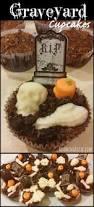 halloween dirt cake graveyard cupcakes roaming rosie