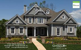 French Style Floor Plans Tres Maison B House Plan House Plans By Garrell Associates Inc