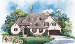 gracious french country manor 42294db architectural designs