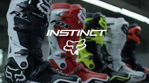fox instinct motocross boots fox mx instinct boots the fastest boots in motocross mxstore