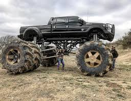 monster trucks in the mud videos the world u0027s largest dually truck the drive