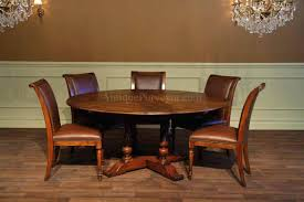 dining table dining inspirations black round dining table with