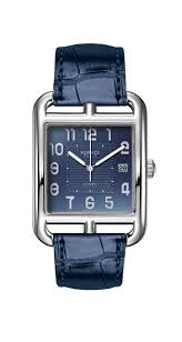 stainless steel gents cape cod watch with navy dial u0026 strap