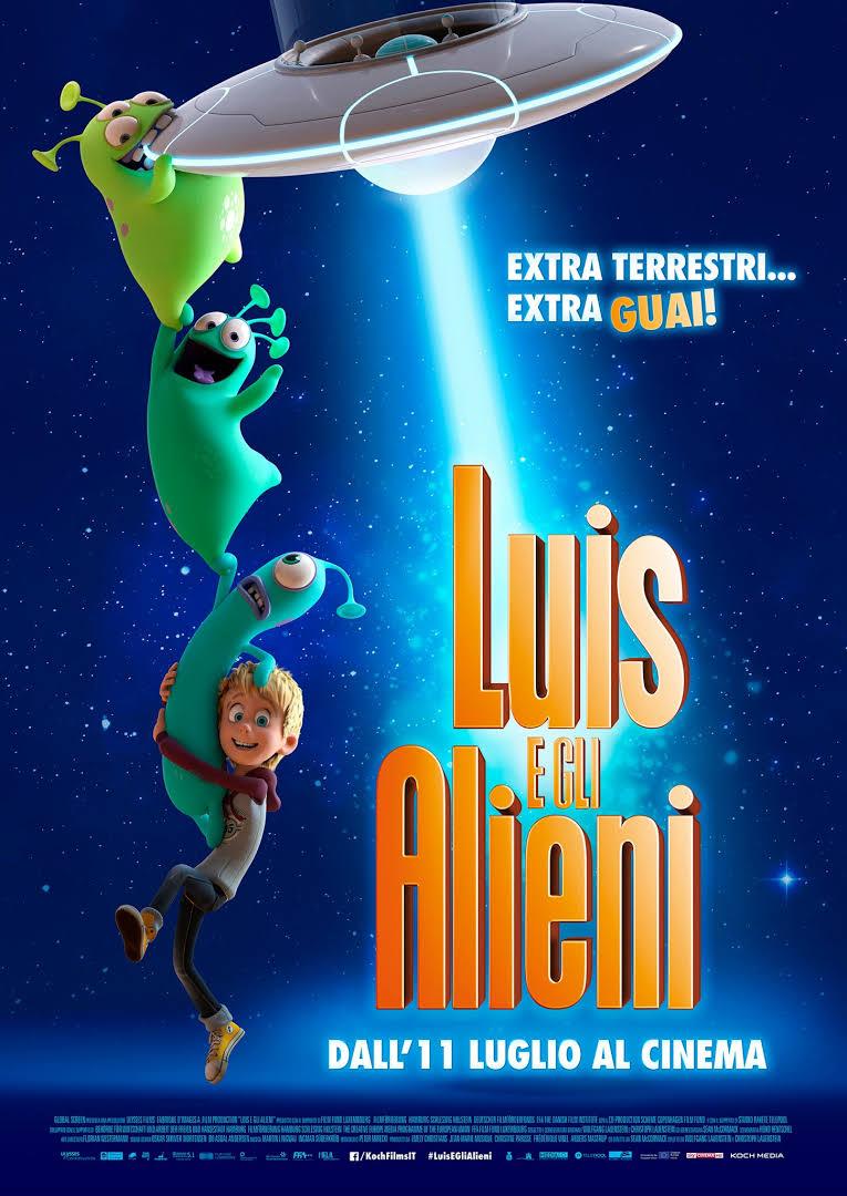 Locandina Luis e gli alieni
