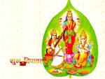 Wallpapers Backgrounds - Download Laxmi Ganesh Wallpaper Wallpapers
