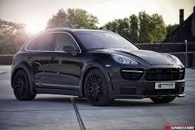 Porsche Cayenne Black - official prior design porsche cayenne ii pd600 widebody gtspirit