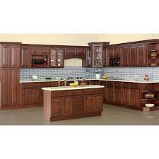 L Shaped Small Kitchen Designs Kitchen L Shaped Walnut Kitchen Cabinet Designed With Island And