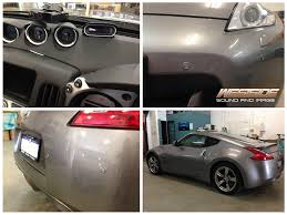 nissan 370z ark exhaust this nissan 370z was fitted with radar detector parking sensors