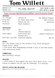 sample of special skills in resume special skills for acting resume free resume example and writing sample resume for professional acting httpwwwresumecareerinfo