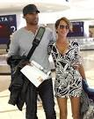 Nicole Ari Parker and Boris Kodjoe at LAX
