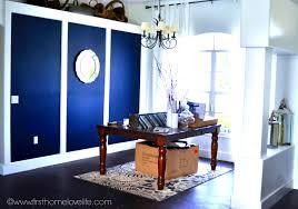 Navy Blue Wall Bedroom Interior Puny Cheery World Design Encomendas Colour Combination
