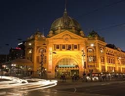 Flinders Station  After Dark