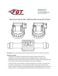 diesel products fgt motorsport