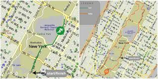 Central Park New York Map by Recap New York Duathlon 2015 Cuckoolemon