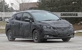 nissan leaf used car 2018 nissan leaf spy photos u2013 news u2013 car and driver