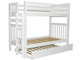 Bunk Beds Tall Twin White Trundle  Bunk Bed King - Ladder for bunk bed
