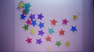 diy wall hanging craft ideas using colourful paper wall