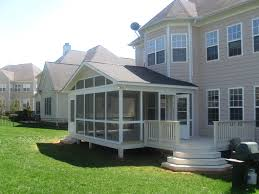 Screen Porch Roof by How To Make My Screen Porch Look Like It U0027s A Truly Integrated Part